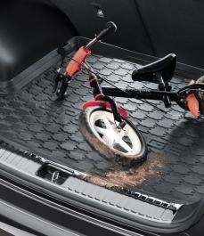 Килимок гумовий в багажник Sportage