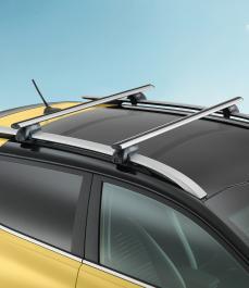 Багажник на дах алюмінієвий (для а/м з рейлінгами), STONIC